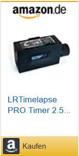 LRTimelapse Pro Timer 2.5 Der ideale Timer/Fernauslöser für die Zeitrafferfotografie – nur bei Amazon!